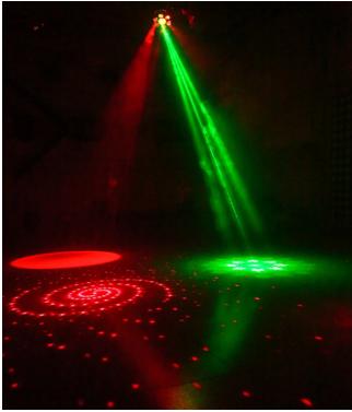 LED五角花灯效果图