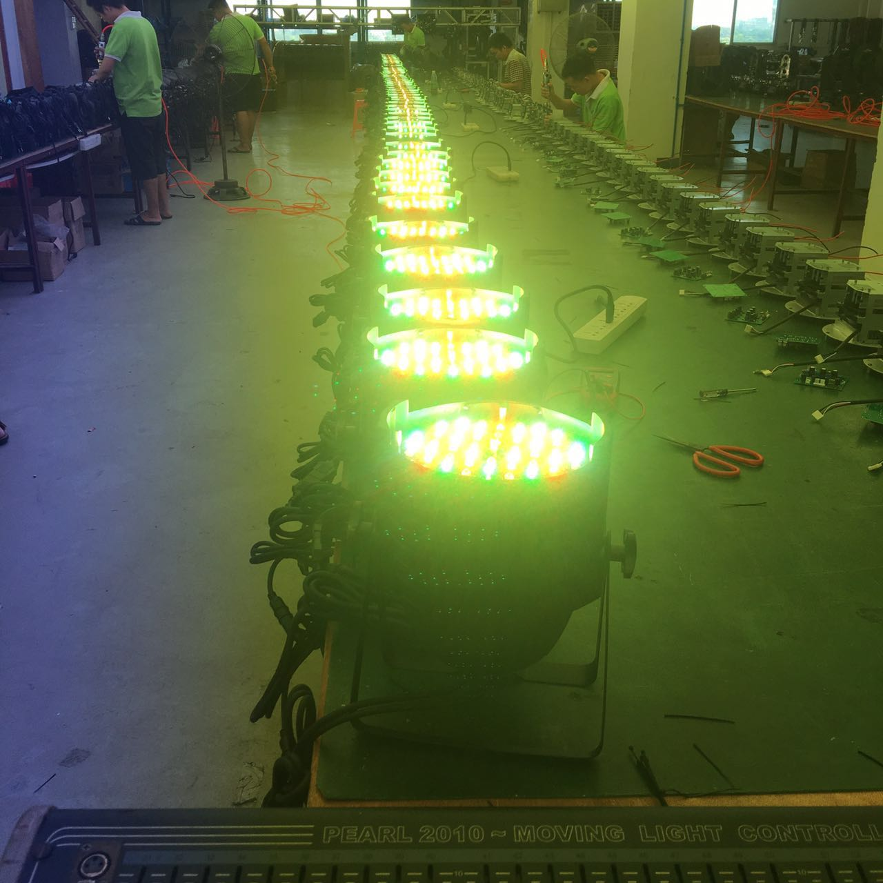 LED帕灯如何维修?效果图
