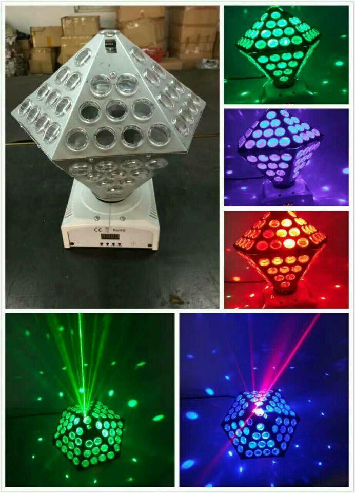 LED钻石吸顶酒吧灯效果图