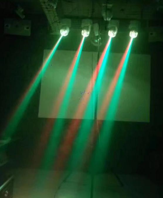 LED吸顶灯染色激光灯效果图