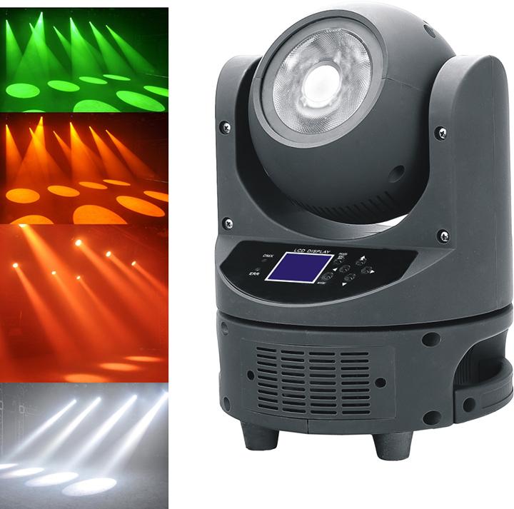 LED 60W摇头光束灯效果图
