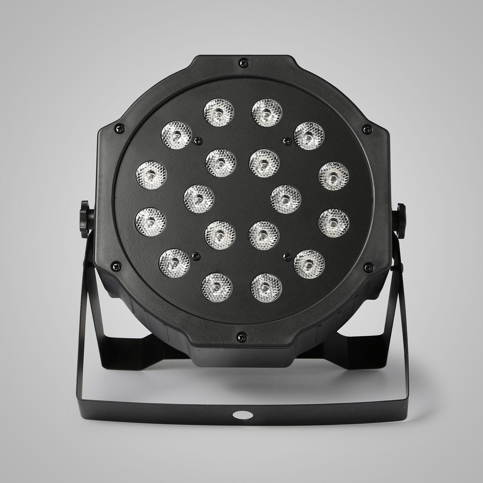 LED36颗扁帕灯效果图