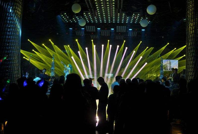 大型酒吧舞台灯光设备有哪些?