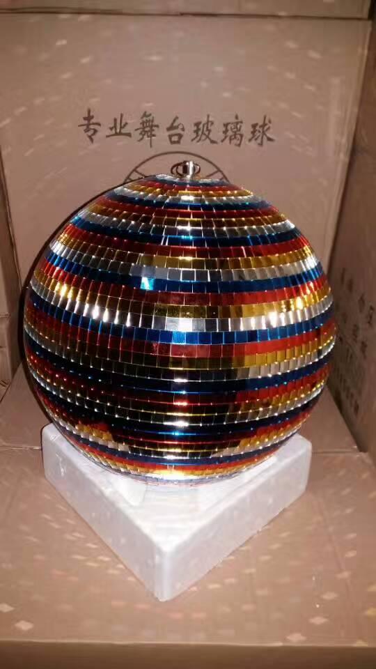 闪光球 舞台灯光反射玻璃球效果图