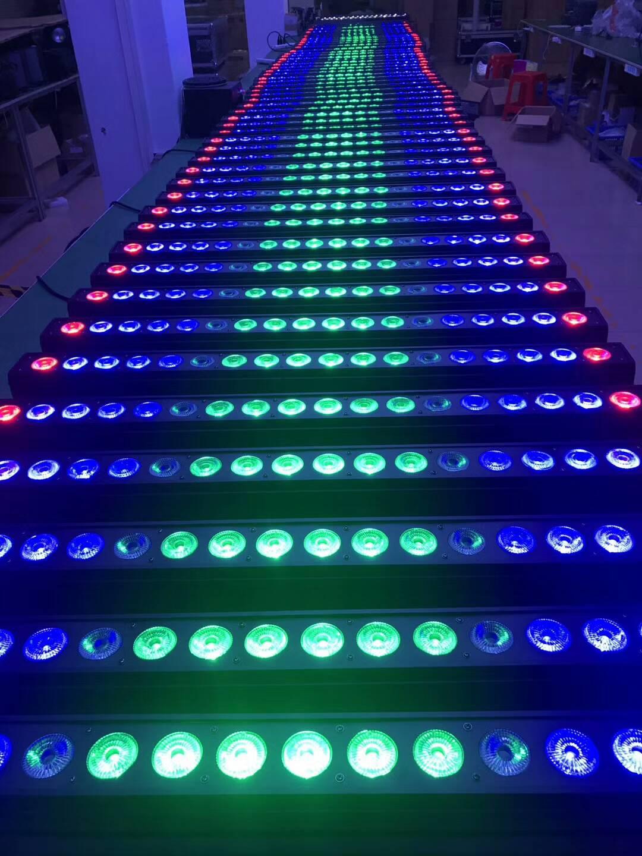 LED洗墙灯在婚庆中的使用效果图