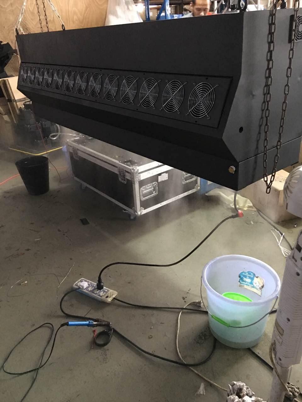 3D全息水雾帘、投影雾屏、互动介质成像有什么吸引人的地方?效果图