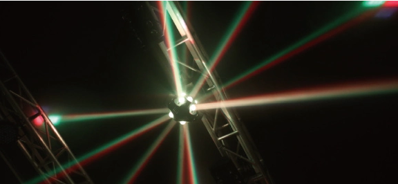 LED舞台光束足球灯效果图