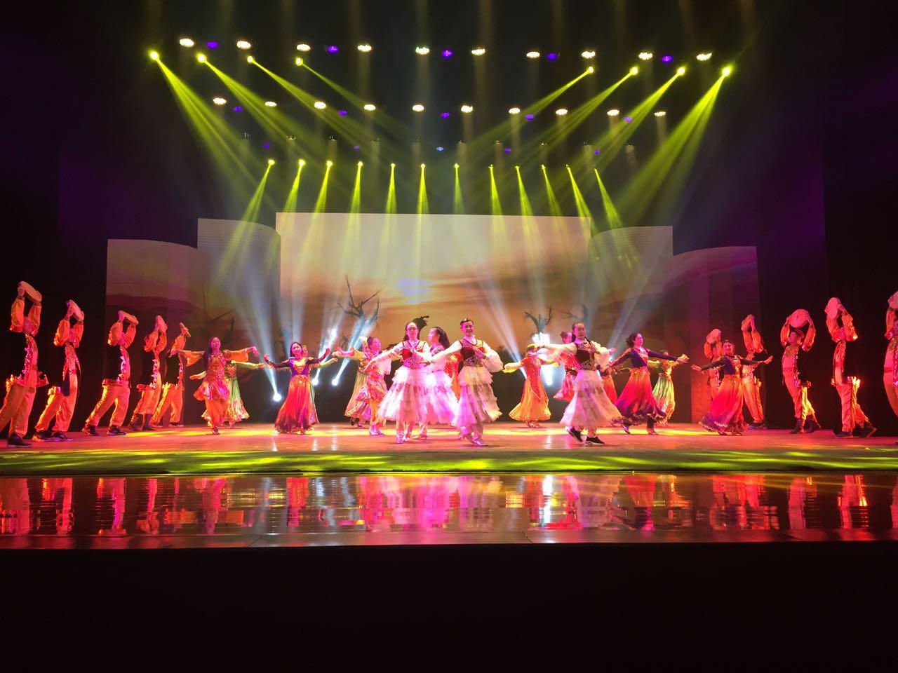 舞美舞台灯光对于大型晚会有哪些要求?效果图