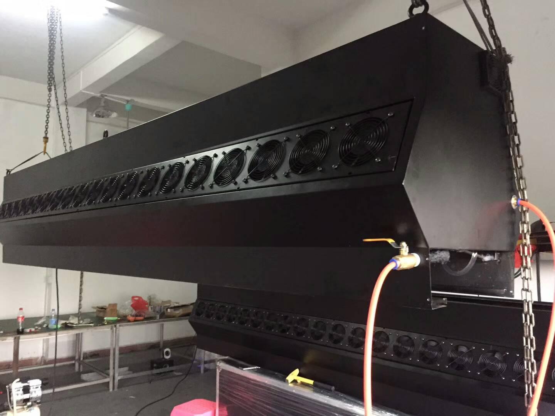 2.1米雾幕机/水雾门效果图