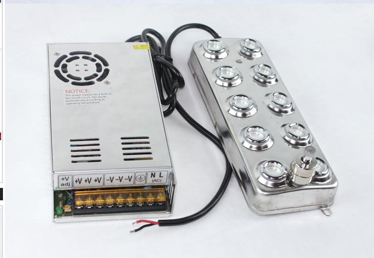 雾幕机、水雾屏系统基本组件介绍效果图