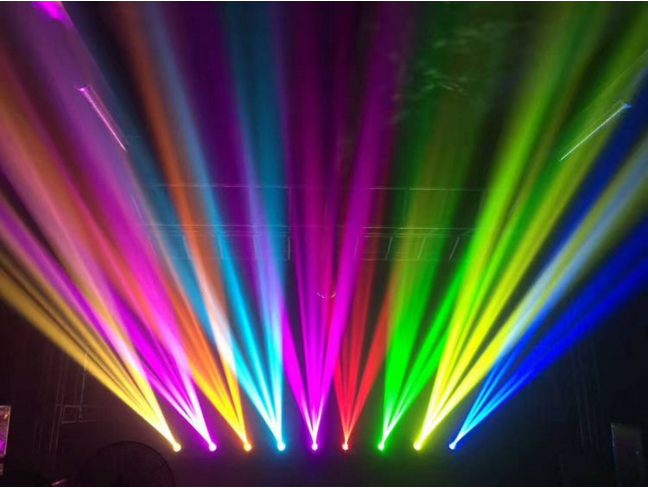 舞台灯光四要素效果图