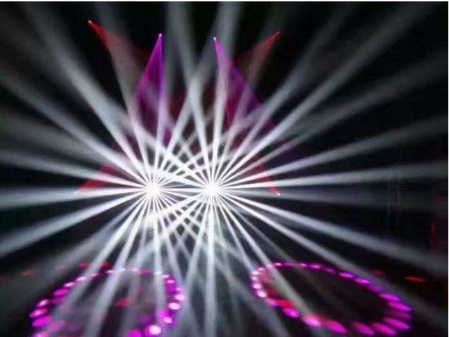 舞台灯光摇头灯如何安装?效果图
