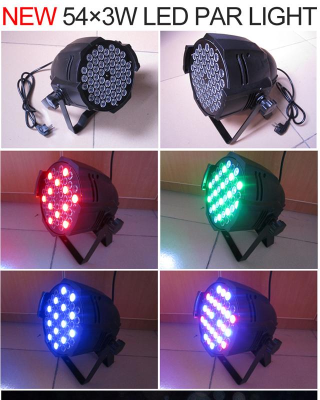 LED帕灯的构造效果图