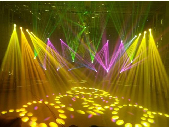 舞台灯光演出布置要点效果图