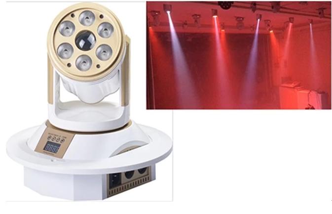 如何安装LED摇头灯效果图