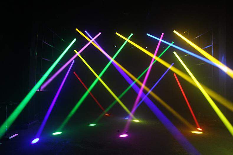 摇头光束灯优势和原理效果图