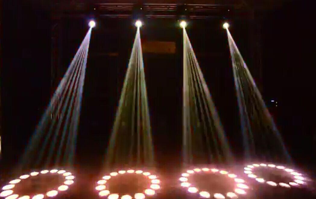 光束灯主要的工作原理效果图