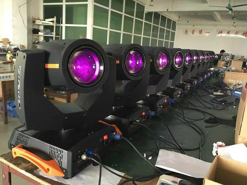 如何设计光束灯的跑马程序效果图