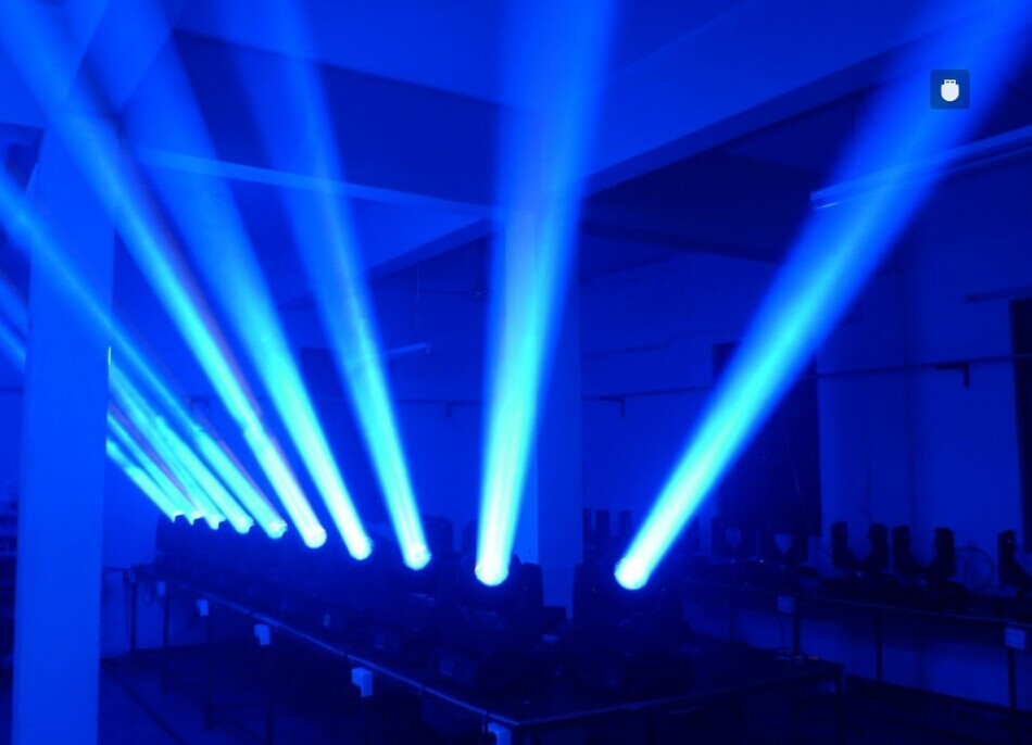 光束灯定义效果图