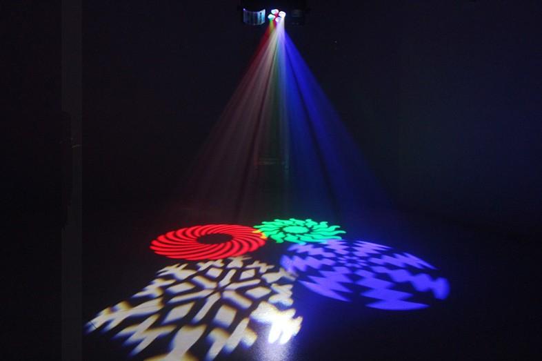 舞台灯光在酒吧中如何染色效果图