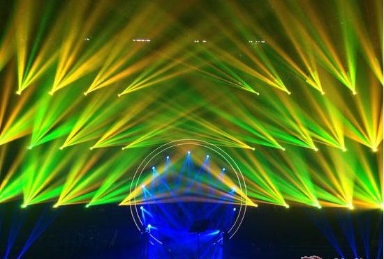 光束灯和光束图案三合一之间区别效果图