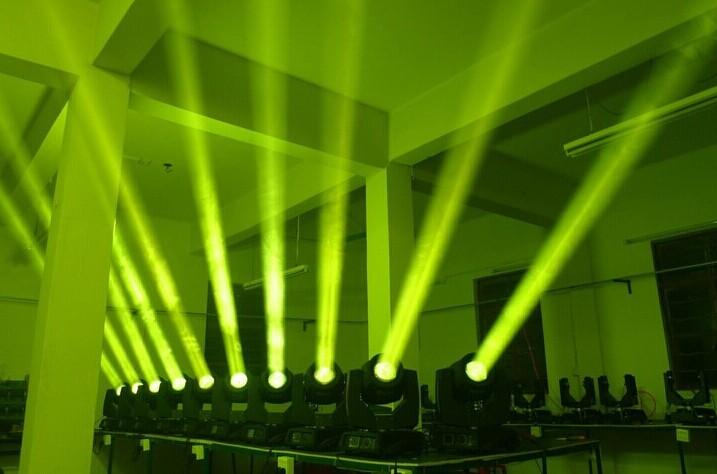 舞台灯光摇头灯时亮时不亮故障如何维修效果图