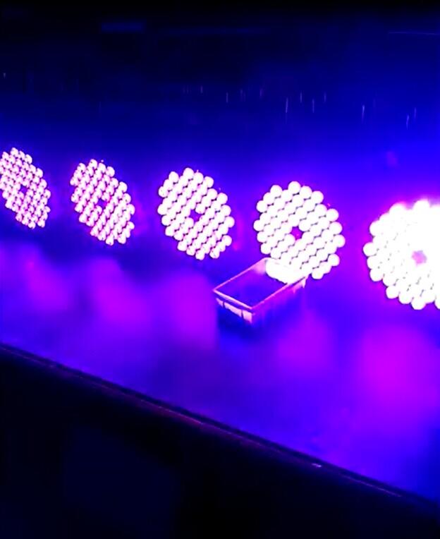 判断LED帕灯亮度效果图