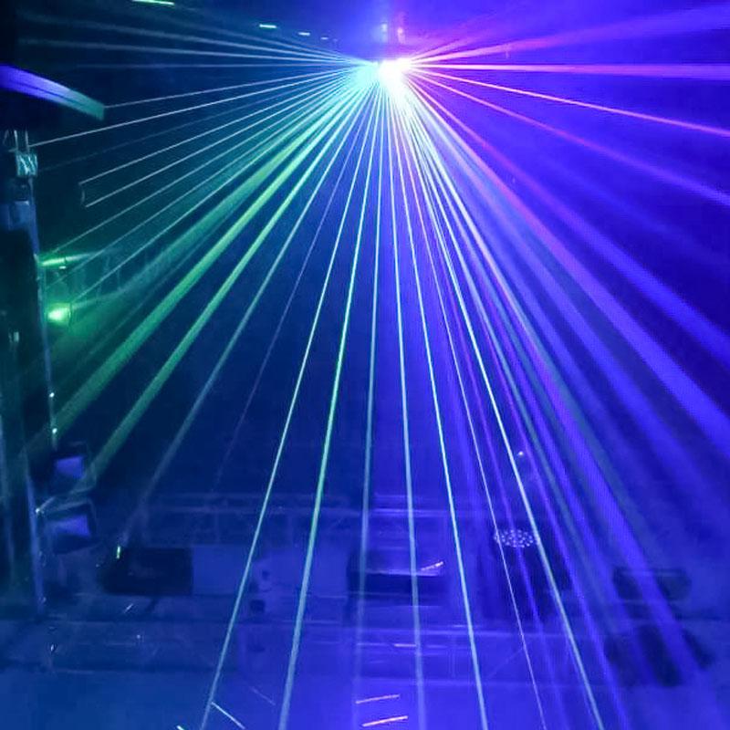 如何判断好的激光灯效果图