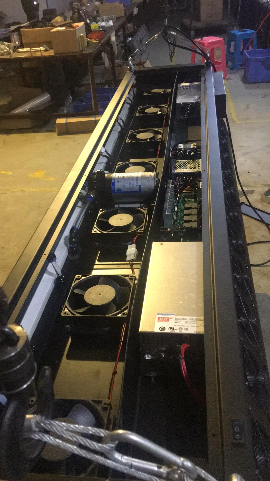 水雾屏/雾幕机产品质量的重要性效果图