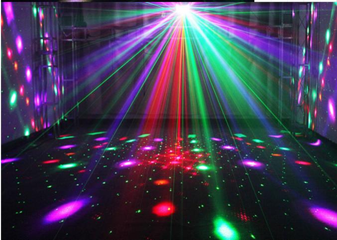 舞台灯光色彩搭配的艺术效果图