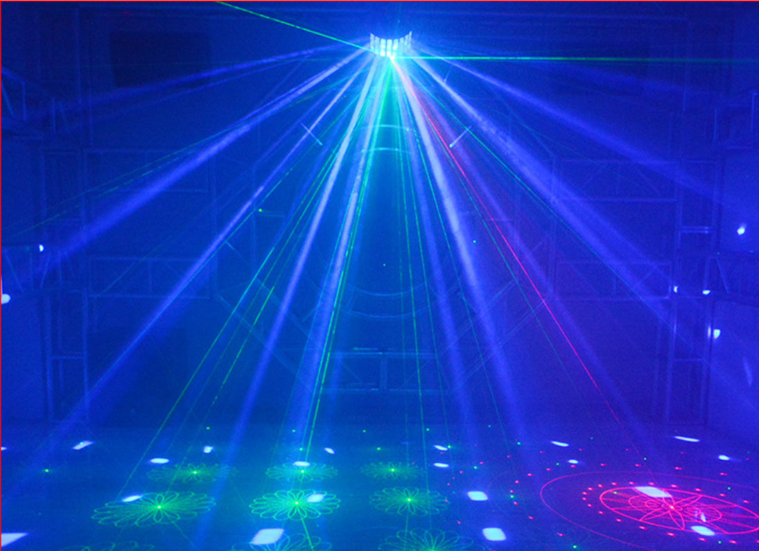 LED蝴蝶激光灯效果图