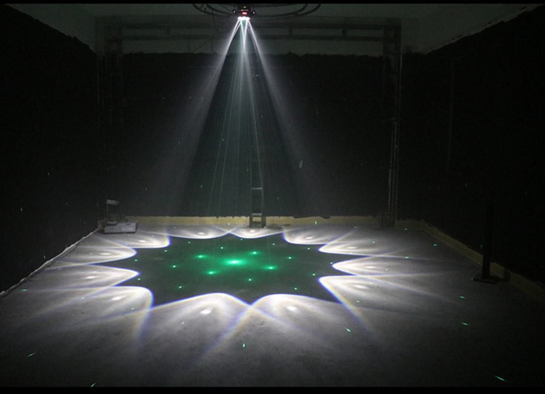 LED六颗蜂眼灯效果图