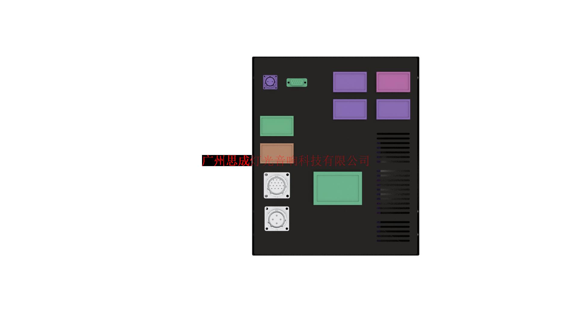 全息3D雾屏/雾幕机/水雾机投影细节图展示效果图