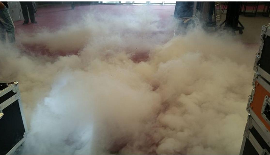 3000W水雾机效果图