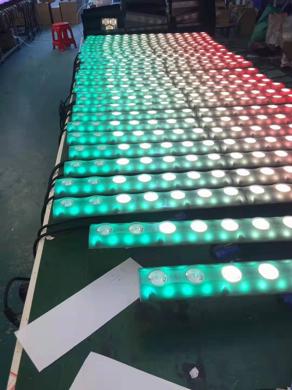 14颗LED变色龙效果图