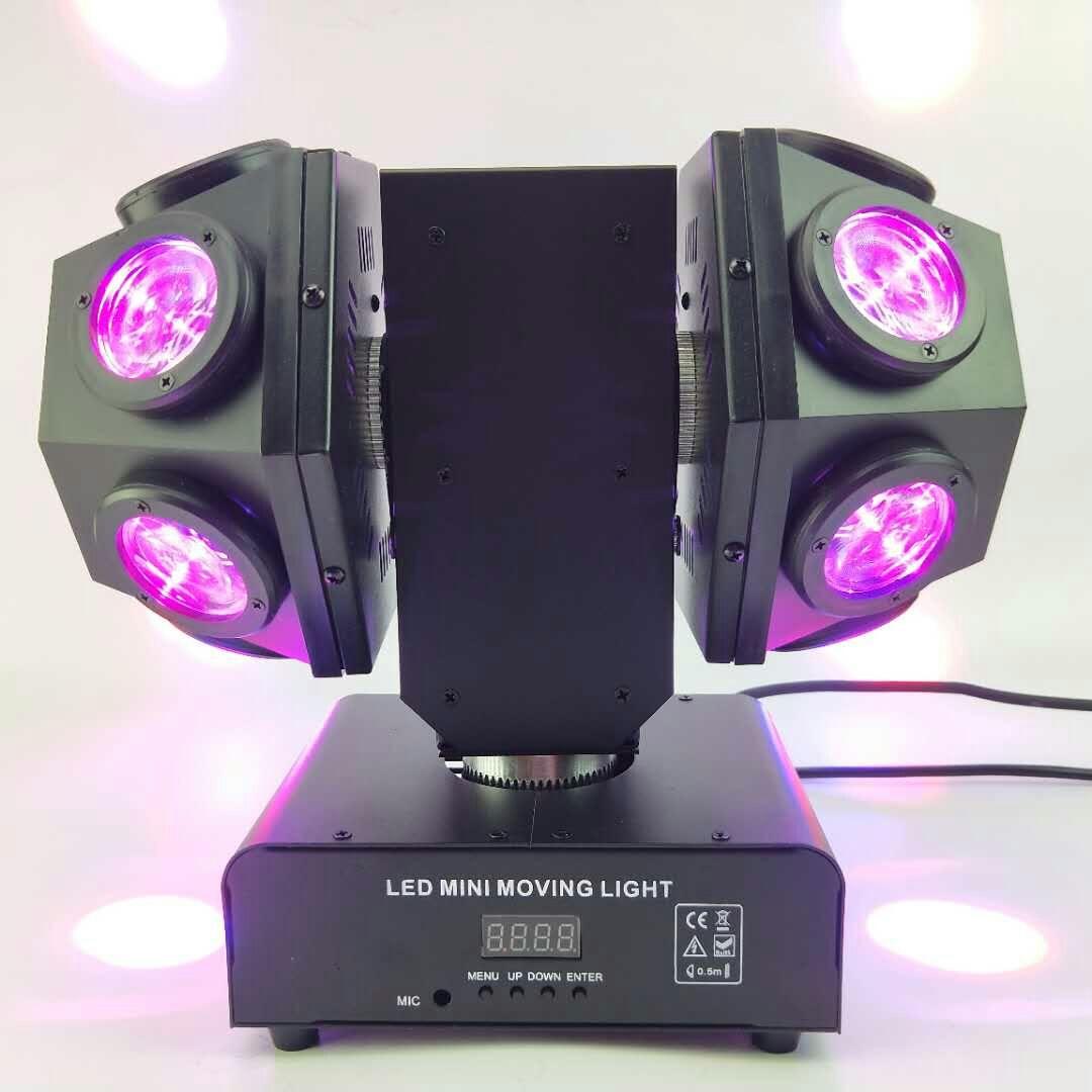 LED摇头双球灯