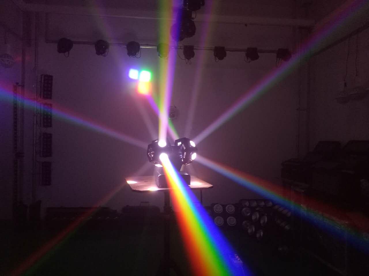 LED摇头双球灯效果图