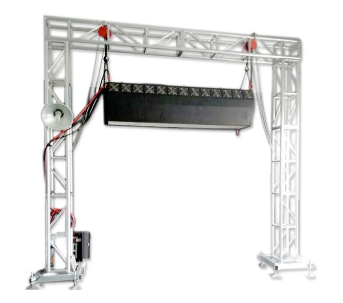 3米雾屏/雾幕机投影装置方式