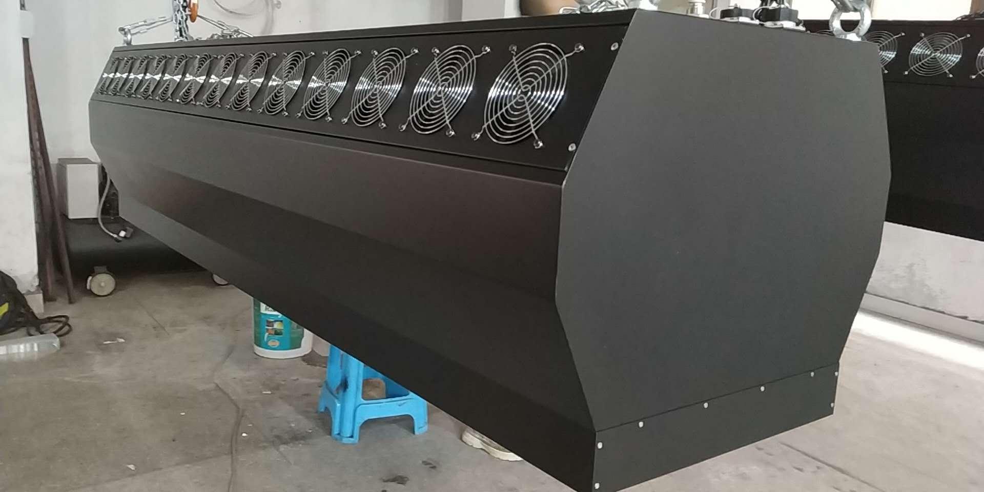 雾幕机/水雾帘/雾屏的工厂生产车间探秘效果图